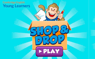 Aprende jugando con SHOP AND DROP